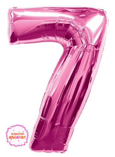 Balão Rosa Choque nº 7