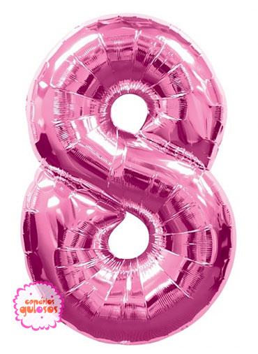 Balão Rosa Choque nº 8