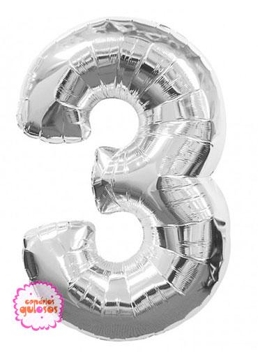 Balão Prateado nº 3