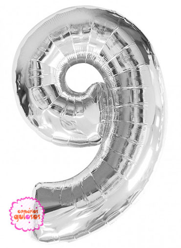 Balão Prateado nº 9