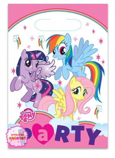 Saco Guloseimas Little Pony - 8 und