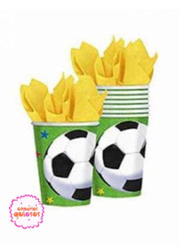 Copos Futebol conj 8