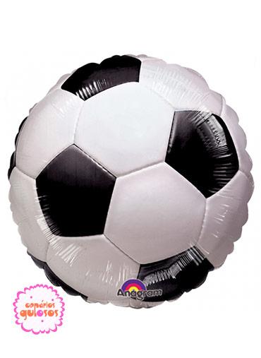 b4f5386ed7 Balão Bola de futebol - 43cm | Cenários Gulosos | Tudo para ...
