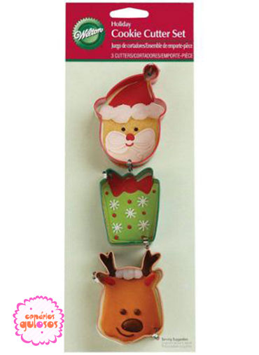 Cortante Natal Wilton- conj 3