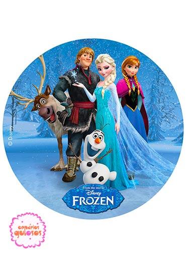 Hóstia redonda Frozen
