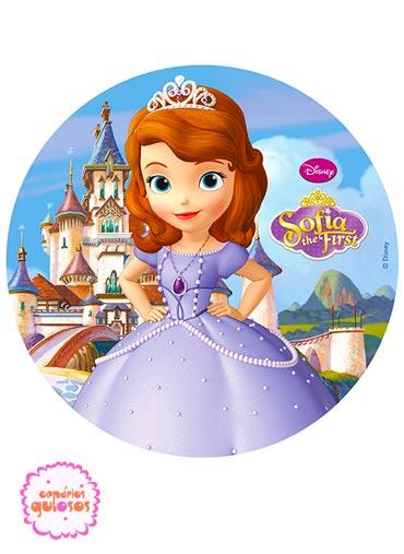 Hóstia redonda Princesa Sofia