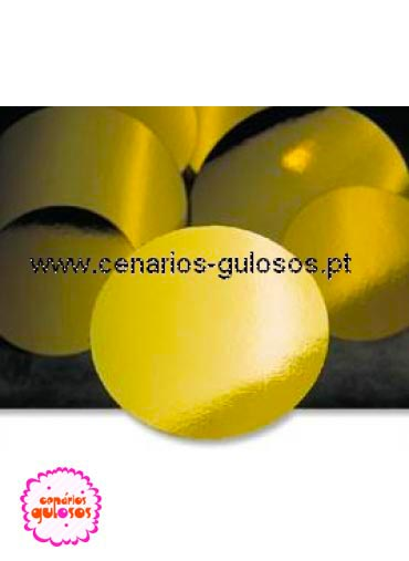 Disco Ouro forte Liso 36cm