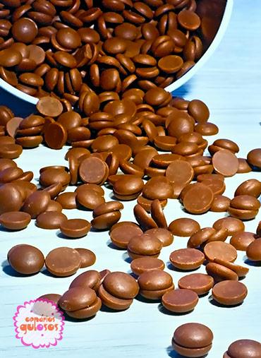 Pastilha de chocolate de leite Bitter - 250gr