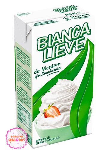 Preparado Líquido Vegetal - tipo Chantilly - Bianca Lieve - 1Lt
