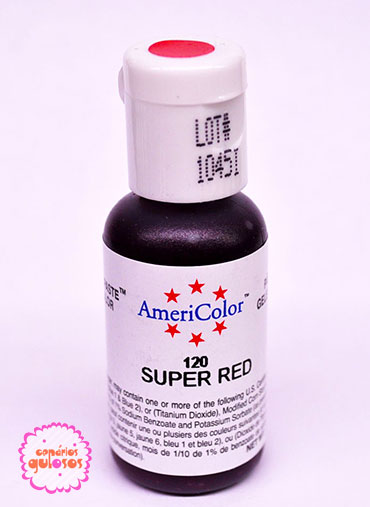 Corante Gel AmeriColor - Super Red