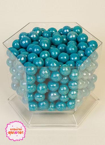 Bolas Crocantes grandes Azul 100gr