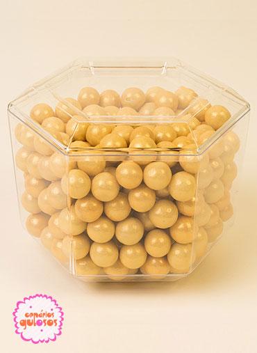 Bolas Crocantes grandes Douradas 100gr