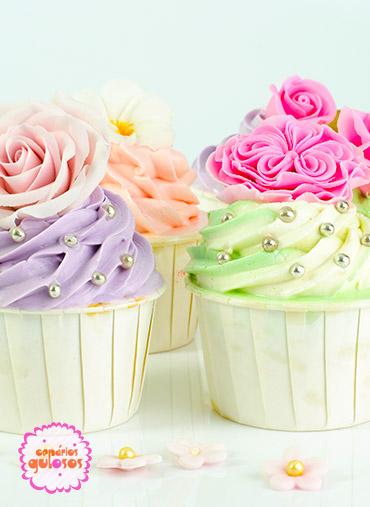 Forma Cupcake Branca 120ml