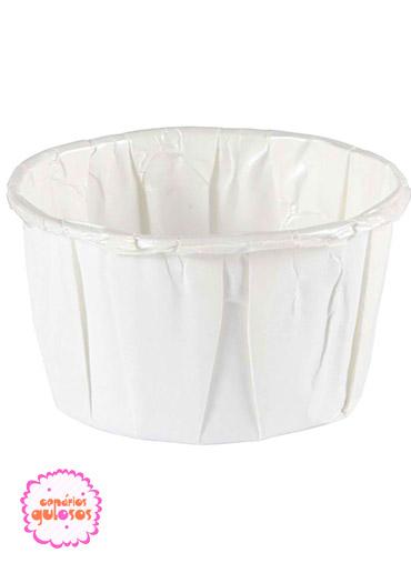Forma Cupcake Branca 165ml