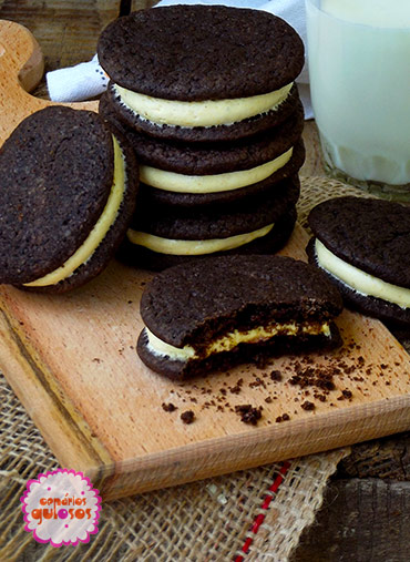 Bolacha Chocolate negro tipo