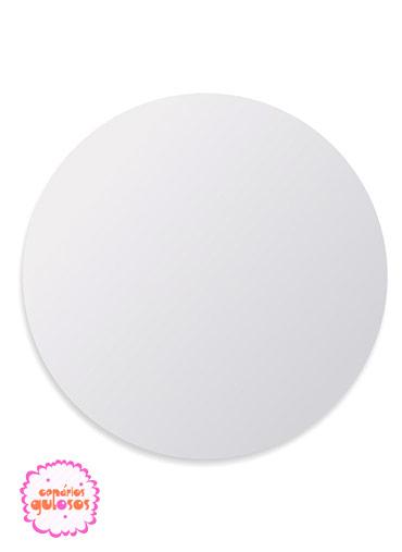Disco Branco liso 24cm
