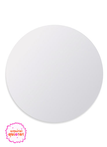 Disco Branco liso 26cm