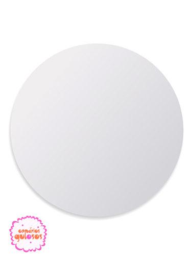 Disco Branco liso 30cm