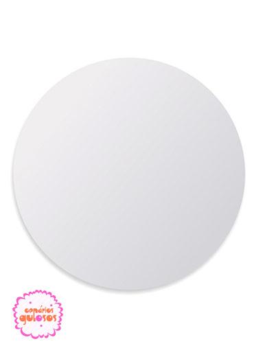 Disco Branco liso 34cm