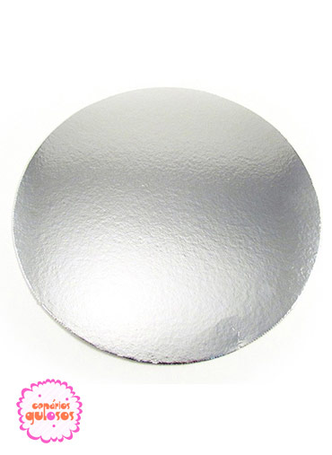 Disco Prata liso 26cm