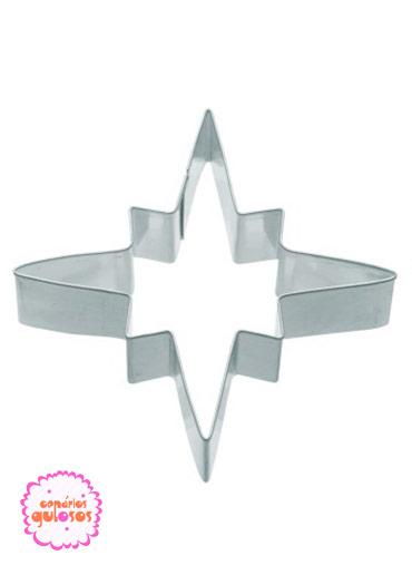 Cortante Metal Estrela Natal