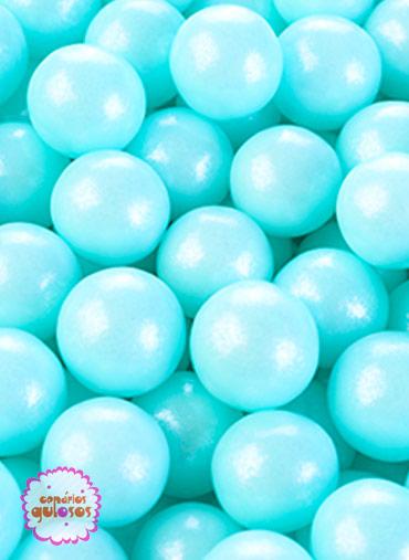 Pérolas Açúcar Azul Peroladas - 50gr