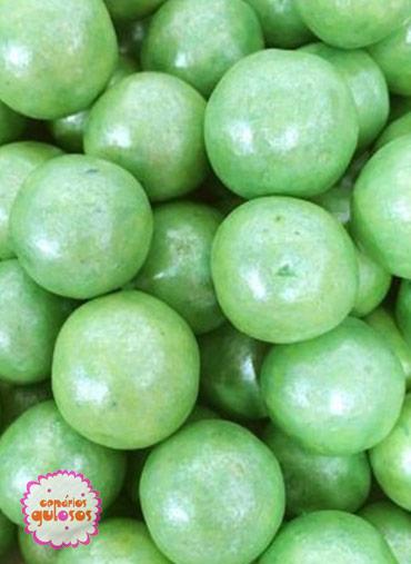Bolas Crocantes Grandes Verdes - 100gr