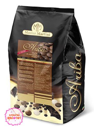Pastilha Chocolate Puro Leite 500gr - Master Martini