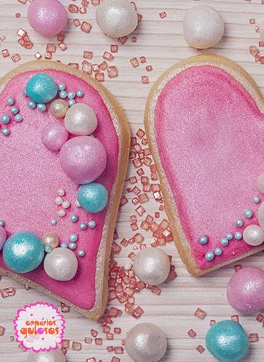 Pérolas Açúcar Rosa Peroladas - 70gr
