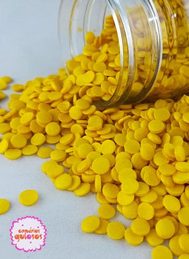 Confetis Ouro Perolados  70gr
