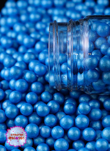 Pérolas Azul Forte Peroladas L 70gr