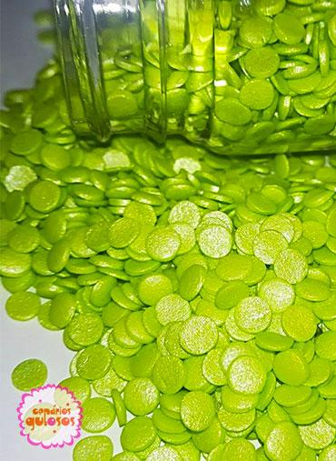 Confettis Verde Água Perolados 70gr