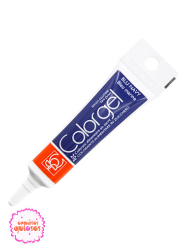 Corante Colorgel Azul Marinho 20gr