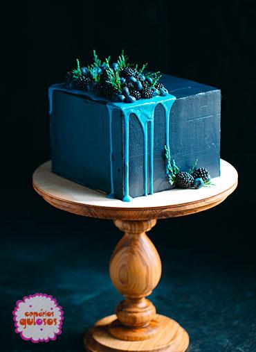 Ganache Chocolate Azul Forte 500gr