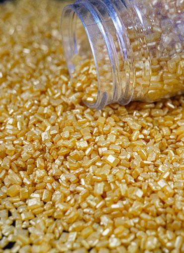 Confettis Cristal Dourado 70gr