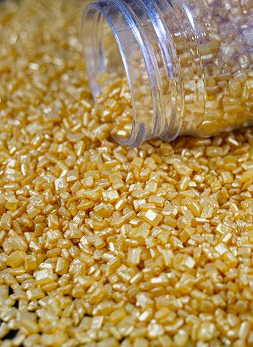 Confettis Cristal Dourado kg