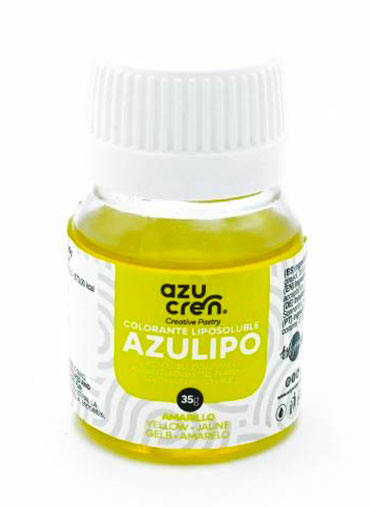 Corante líquido Lipossolúvel Amarelo - 35ml