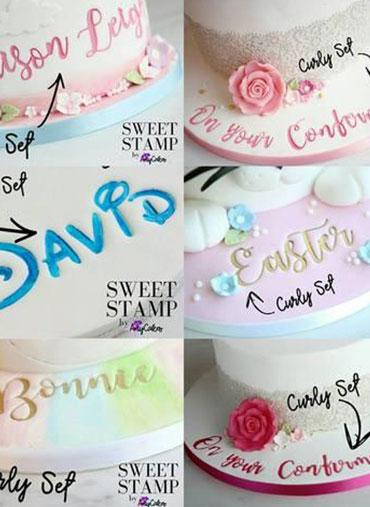 Sweet Stamp - Conj. Números & Símbolos ELEGANT