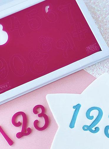 Sweet Stamp - Conj. Números e Símbolos SWEET