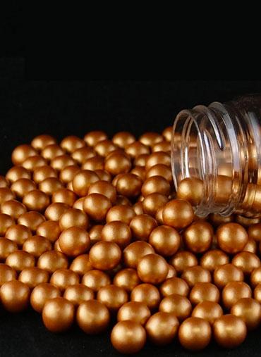 Pérolas Chocolate Cobre 70gr