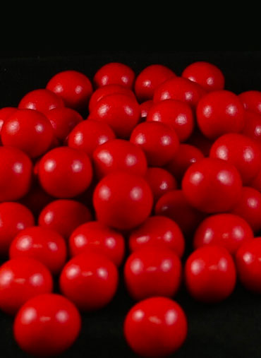 Bolas Crocantes Vermelha S 100gr