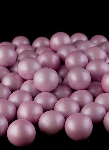 Bolas Crocantes Rosa Bebé S 100gr