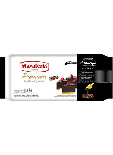 Barra Chocolate Amargo Fracionado Mavalério 1.01Kg