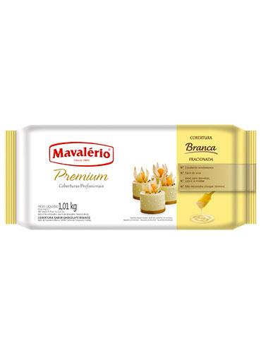Barra Chocolate Branco Fracionado Mavalério 1.01Kg