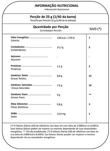 Barra Chocolate Leite Fracionado Mavalério 1.01Kg