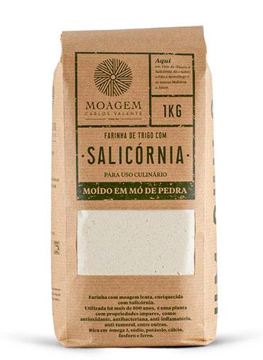 Farinha de Trigo com Salicórnia kg